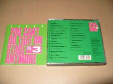 Frank Zappa You Can't Do That Vol. 3 - 2 cd FatBox 1989 Ex + Condition  (F4)