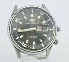 I716 Vintage Orient Aaa Deluxe Automatic Watch Needs Repair Cal.4950 Jdm 63.4