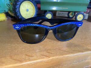 Vintage B&L Bausch & Lomb Ray Ban Blue 50mm Electric Beach Black Ebony 90s 80s