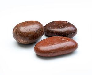 Zierkies hochglanzpoliert *PREMIUM* rot 25 kg Sack, Körnung 50-80 mm