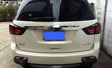 SMOKE LENS LED REAR TAIL LAMP LIGHT FOR ISUZU MU-X 4DOOR 4X2 4X4 2014-2015 SUV