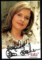 Silke Böschen RBB Autogrammkarte Original Signiert ## BC 23524