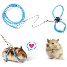 Pet Hamster Leash Adjustable Rat Ferret Squirrel Mouse Harness Lead Rope Leash V