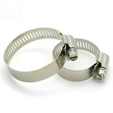 10 Pcs Ф21-Ф44MM Clamp 304 Stainless Steel Silicone Hose Clamp