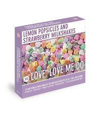 LEMON POPSICLES AND STRAWBERRY MILKSHAKES CD LOVE ME DO 50S ROCK BEATLES