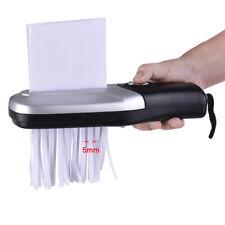Portable A4 A6 Paper Shredder Cutter Strip Cut Device Cutting Machine For Home
