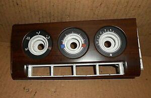 Rover 45 MG ZS 99-03  Heater control surround facia panel JFC001280