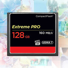 CF Momery Card UDMA7 For Camera 160MB/S 128GB Super Speed Compact Flash New #