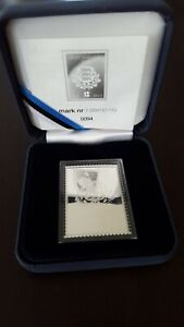 Estonia 2018 silver stamp 10 Euro 94/5000 RARE small Certificate number GIFT BOX