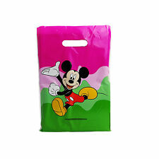 More details for mickey mouse printed carrier bags double side printed strong gift bag 10