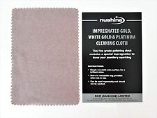 NUSHINE IMPREGNATED GOLD, WHITE GOLD AND PLATINUM LARGE CLEANING CLOTH