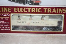 O Scale Trains K-Line Bakers Chocolate Gondola 6535