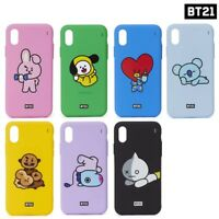 BTS BT21 Official Authentic Goods Silicone Case for iPhone X Active Ver