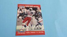 1990 PRO SET FOOTBALL FERRELL EDMUNDS CARD #340***PRO BOWL***