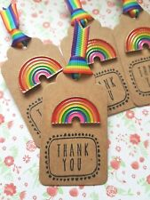 1 x Cute Rainbow Pin Badge Gift Sister Friend Mum Aunty Teacher
