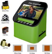 Film Scanner with 22MP High Resolution Slide Scanner Converts 35mm