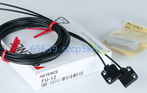 KEYENCE FU-12 Fiber Optic Sensor FU12 Transmissive Fiber Optic Unit