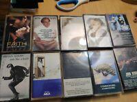 Music cassette tapes lot of 10..lot 2 ..bryan adams .neil diamond