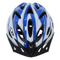Proteccion Casco azul blanca para el Bicicleta de montana Bicicleta unisexo Z1H8