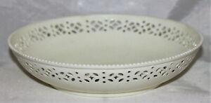 English Creamware Pierced Bowl, late 18th Century