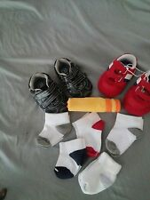 Baby Boy Shoe & Sock Lot Size 2 & 3 New