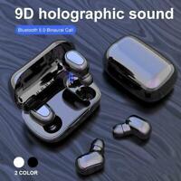 Bluetooth 5.0 Headset Tws Drahtlose Kopfhörer Ture Stereo Kopfhörer Earbuds