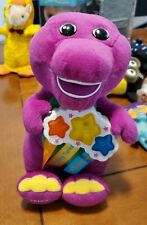 Rare Fisher Price 2002 Barney the Dinosaur Best Manners Singing Plush Toy