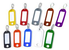 Schlüsselschilder, Schlüsselanhänger zum Beschriften mit S-Haken 20 Farben