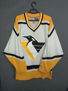Pittsburgh Penguins Jersey LARGE Shirt Hockey NHL CCM ig93