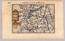 OBERPFALZ-Noricum-Descriptio Norici-Karte-Map Bertius 1603