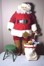1997 Coca Cola Heritage Collection Limited Ed. Santa Doll Designed by Pam Hamel