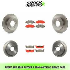 Front Rotors /& Semi-Metallic Brake Pads for 2015-2017 Ford F-150