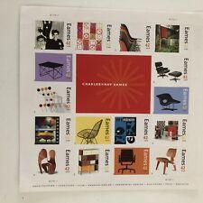 Vintage Eames Sst Of Postage Stamps