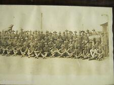 1918 3RD CO ORDNANCE CAMP HANCOCK GA WWI WW1 CROWNOVER US ARMY YARD LONG PHOTO