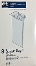 8 Sebo Ultra-Bag Filter Vacuum Bags Genuine Style 5093AM