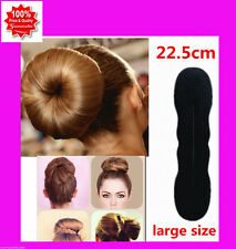 Foam Sponge Hair DIY Styling Donut Hair Bun Maker Styling Tool  Large Size
