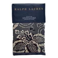 NWT Ralph Lauren Durant Kira Standard Sham Navy Blue $130