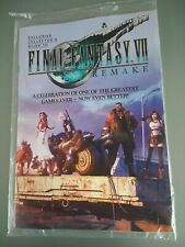 FINAL FANTASY 7 REMAKE Exclusive Collector Guide Official PlayStation 4 Magazine