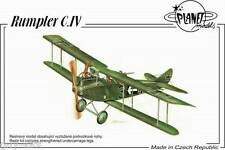 Avion militaire Allemand RUMPLER C.IV - Kit résine PLANET MODELS 1/48 N° 167