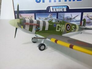 Armour, Spitfire MK.V, Ace B. Duperier, RAF 340 Squadron, 1:48, Diecast, Used