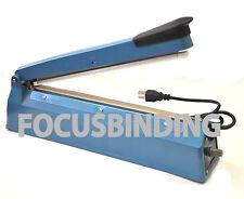 """New 16"""" 400mm Manual Heat Sealing Machine Impulse Sealer Poly Plastic Bag Film"""