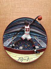 "Michael Jordan ""Slam Jammer�Collector Plate Upper Deck"