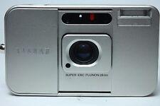 Fujifilm TIARA II 35mm Film Camera Fujinon 28mm Lens from Japan Excellent++++