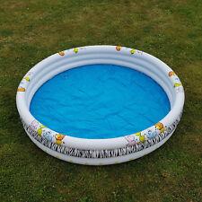 Kinder Planschbecken Safari Design Pool rund 170 cm Swimmingpool Schwimmbecken