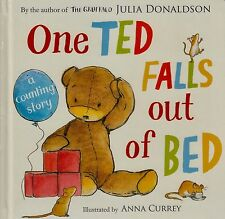 One Ted Falls Out of Bed by Julia Donaldson BRAND NEW BOOK (Board book, 2012)
