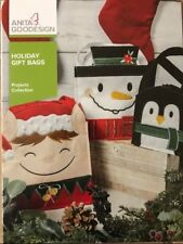 Anita Goodesign Embroidery Machine Design Cd Holiday Gift Bags