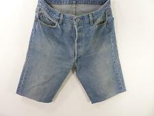 Vintage Reworked Denim Casual Shorts Mens Blue size w36 Grade B M351