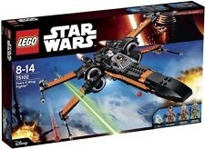LEGO STAR WARS 75102 POE'S X-WING STARFIGHTER NUOVO NEW GUERRE STELLARI