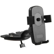 In Car CD Slot Phone Mount Holder Stand Cradle For Mobiles iPhone Android 360