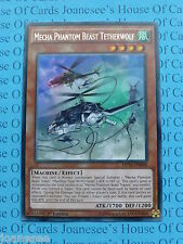 Mecha Phantom Beast Tetherwolf MP14-EN008 Rare Yu-Gi-Oh Card Mint 1st Edit New